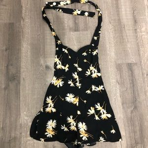 Urban Outfitters Tie-Up Romper